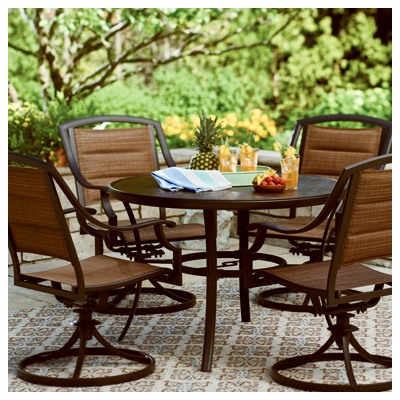 Four Seasons Courtyard 5 Piece Byron Bay Dining Set Price 449 99
