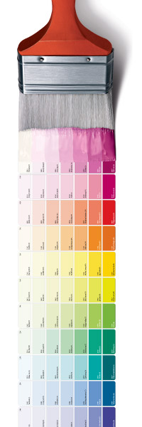 True Value Paint Swatches